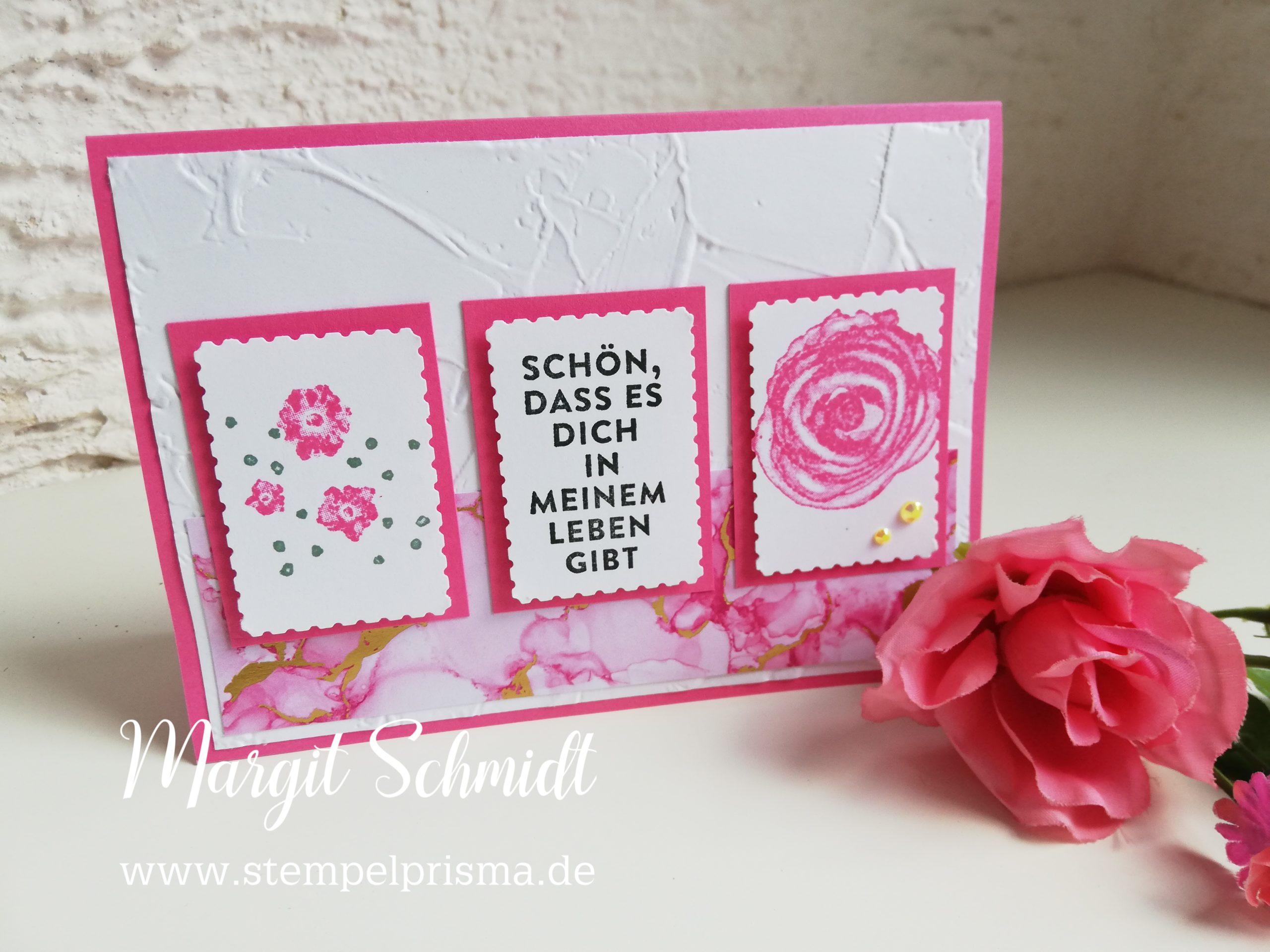 Read more about the article Karte mit Briefmarkenstanze
