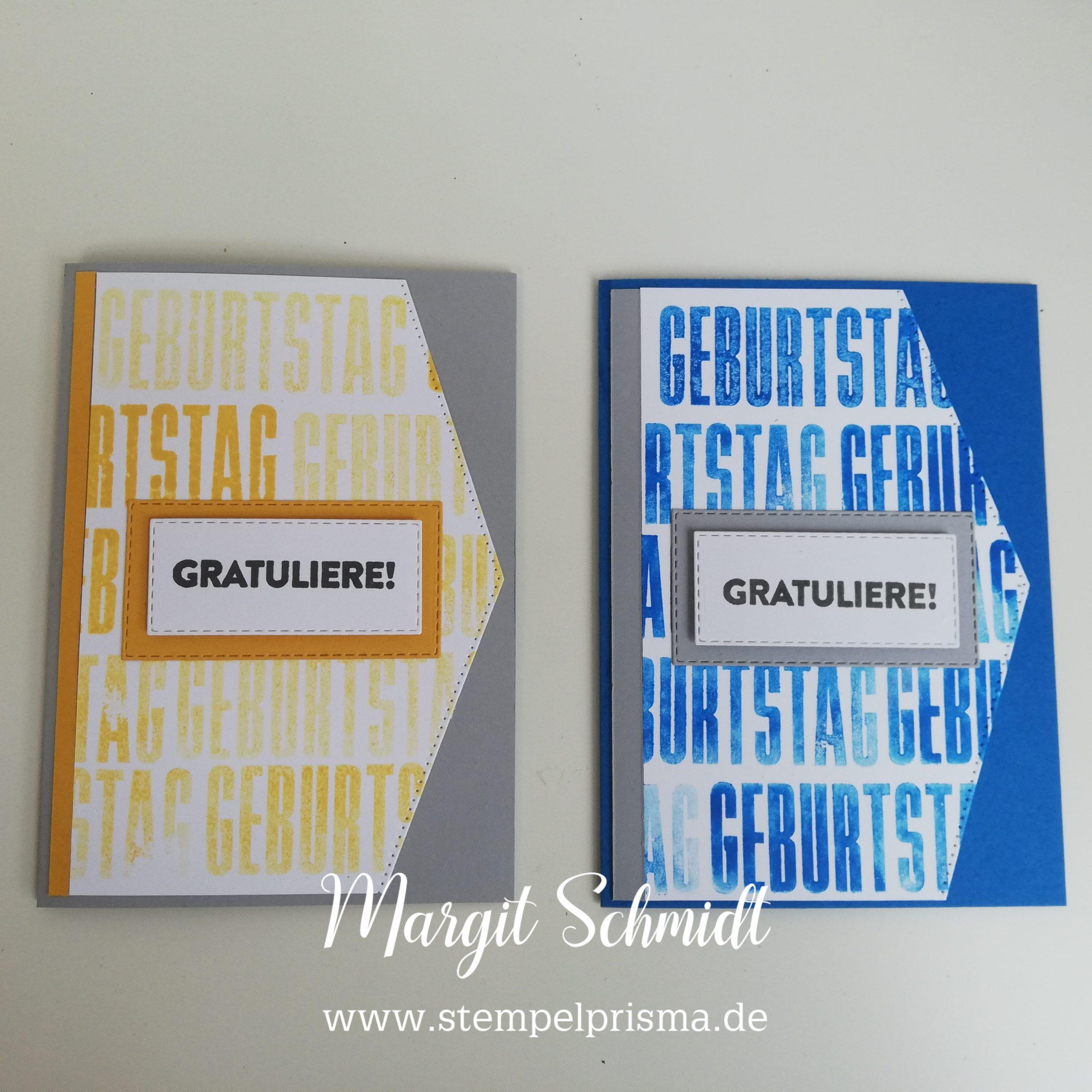 Read more about the article Grosse Wünsche Geburtstagskarte, Männerkarte