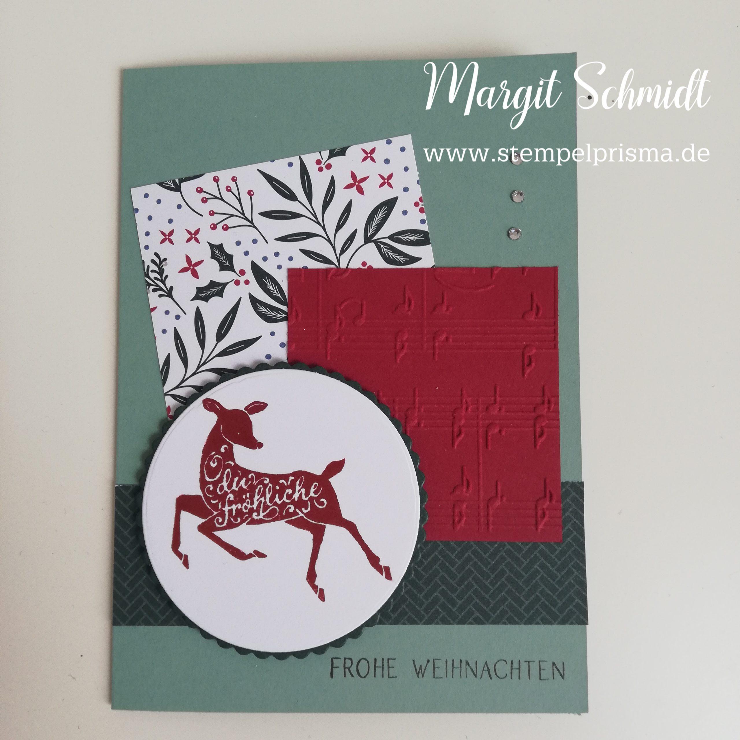 Read more about the article schnelle Weihnachtskarte nach Kartensketch